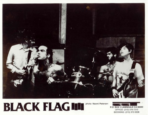 SST Promotional Photo 1985 - Black Flag performing in Richmond, VA 4/9/84 - photo by Naomi Peterson